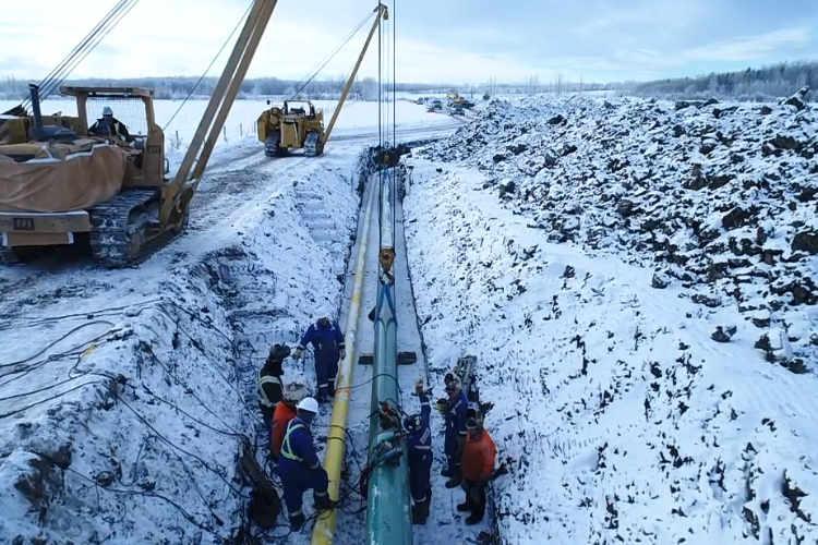 ARC Resources Pipeline Construction